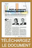 SCPI et emprunt, l'équation insoluble ?